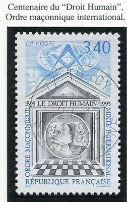 Stamp / Timbre France Oblitere N° 2796 Centenaire Droit Humain