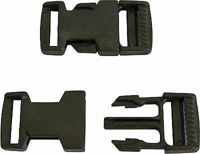 Delrin Side Release Buckles for Webbing / Straps - FREE P&P!