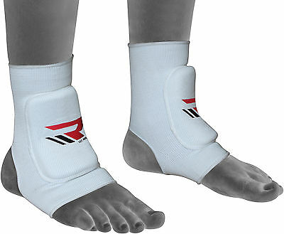 RDX Padded Ankle Foot Support Anklet Pads MMA Brace Guard Gym Sock Protector UFC