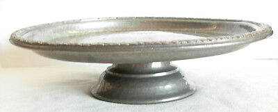 LIBERTY & Co- TUDRIC ENGLISH PEWTER TAZZA-- No-01371