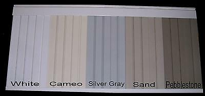 """Mobile Home Skirting. Underpinning. Vinyl. Box of 8 panels 16"""" wide x 35"""" tall"""