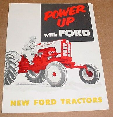 Ford Tractor Brochure  1957