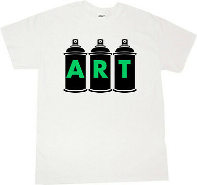 Kings Of NY Spray Can Graffiti Artist Short Sleeve Graphic Tee tshirt T-Shirt