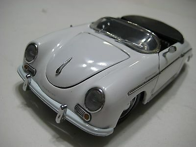 Asahi Collection (China) White Porsche 356A Speedster 1956 Diecast 167-mm