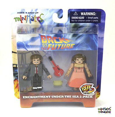 Back to the Future Minimates Enchantment Under the Sea Rockin' Marty & Lorraine