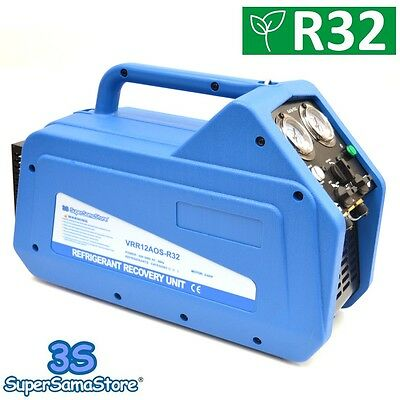 3S New Refrigerant Recovery Machine Unit Oil Less Value R32 R410A R134A R22 R404