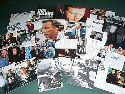 James Woods - Film Star- Clippings-Cuttings Pack