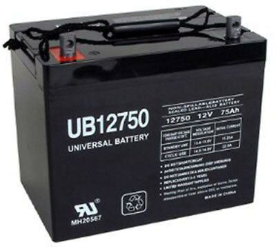 UPG 12V 75Ah Jazzy 1104 1120 1170 XL Plus 1650 Scooter Power Chair Battery
