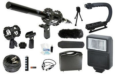 Microphone Complete Digital Camera Kit for Olympus PEN E-P3 EP3 E-PL3 EPL3