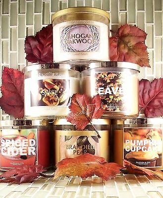 Bath and Body Works CANDLES 3-WICK  14.5 oz
