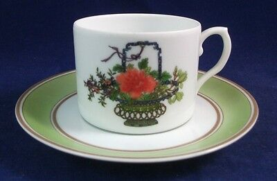Mottahedeh MACAO Cup & Saucer Set SHOWROOM INVENTORY