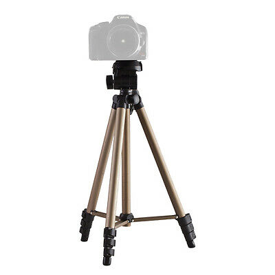"50"" Tripod Universal Professional Stand Portable For Camera / Camcorder W/ Case"
