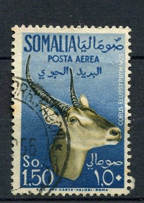 Somalia 1955 SG#296, 1s50 Air Waterbuck Used #A39303