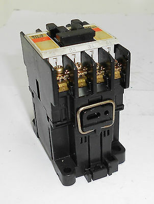 FUJI Electric AC Magnetic Contactor, Type SH-4, 110V Coil, Used, WARRANTY