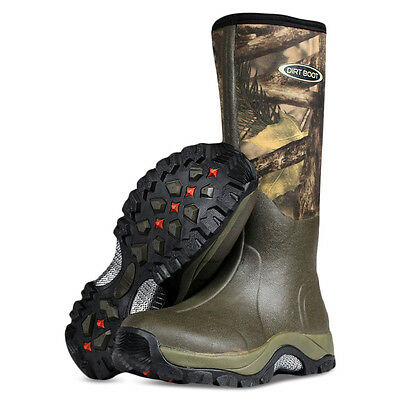 Dirt Boot® Neoprene Wellington Muck Boot Pro-Sport™ Green/Camo