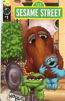 SESAME STREET #1 - Cover C - New Bagged