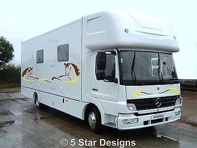 Horsebox Graphics Vinyls Decals HB009