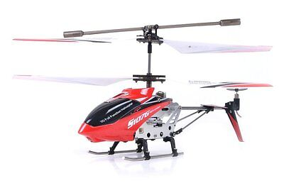 New Syma Red S107/S107G R/C Helicopter Genuine Gyrocopter 3 CH Metal RC $0Ship