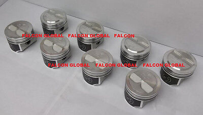 Speed Pro Chevy 327ci Forged +5.3cc Dome Coated Pistons Set/8 L79/350HP +.040
