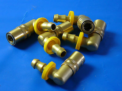 Series 200 Brass Quick Connect Couplers (Push-Lok) - packages of 50 pcs.