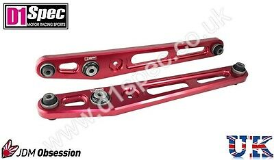 D1 Spec Racing Rear Lower Control Arms For Honda Civic 1996-2000 Ek Jdm