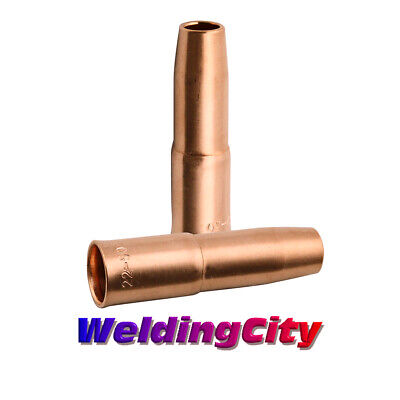 """2 MIG Welding Gun Nozzles 22-50 1/2"""" for Lincoln 200-400A Tweco #2-#4 US Seller"""