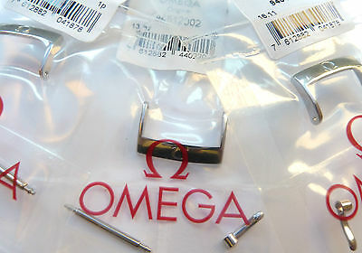 Genuine Omega New Watch Buckle/clasp For Leather Strap/band Steel/gold Any Size