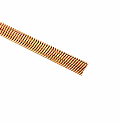 "Drawn Copper Rods .0240 Od X 12"" Long (Lot Of 10)"