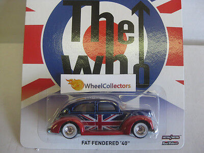 Fat Fendered 40' THE WHO * 2013 Pop Culture Hot Wheels Live Nation * N51 Lamley