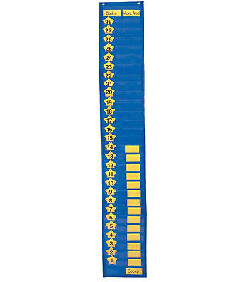 TWO-COLUMN GRAPHING POCKET CHART CD-5611 BRAND NEW