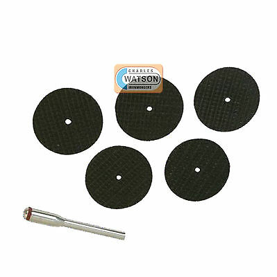 6 Piece Resin Cutting Disc Set Kit Dremel Compatible Multi Tool Accessories