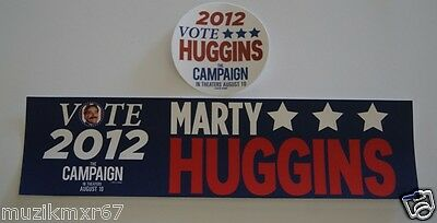 "SDCC Comic Con 2012 EXCLUSIVE Zach Galifianakis HUGGINS ""The CAMPAIGN"" Stickers"