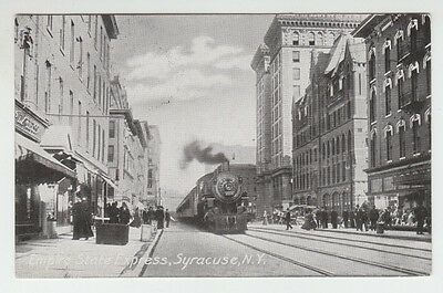 [37767] 1912 Postcard Empire State Express, Syracuse, N. Y.
