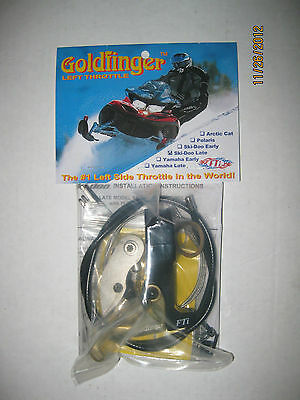 Goldfinger Left Hand Throttle Yamaha Rx-1/apex/nytro/viper/phazer/vector