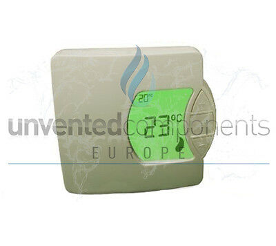 Sunvic TLX1009 Digital room thermostat replaces TLX7501