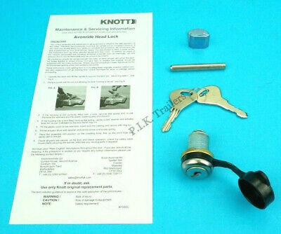 Security Hitch Lock for Knott Avonride Trailer Couplings KFG35 - Ifor Williams