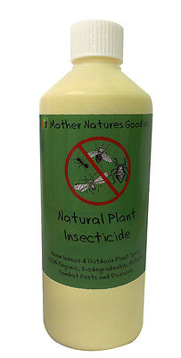 PLANT INSECTICIDE Concentrate Organic Natural NEEM Horticultural Repellent
