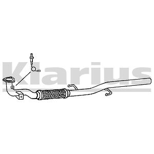 Replacement Exhaust Front Pipe 2 Year Warranty - Brand New!