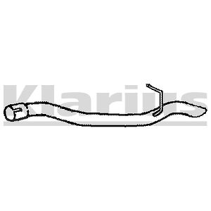 Replacement Exhaust Rear Tail Pipe 2 Year Warranty - Brand New!