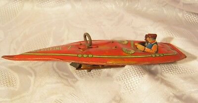 """Lindstrom The Delfine """"7"""" Speed boat toy part"""