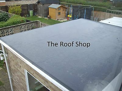 EPDM ROOF KIT extension shed 15 different sizes Rubber Flat Roofing membrane