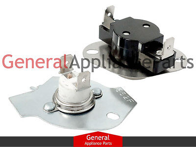 279769 genuine oem whirlpool dryer thermal fuse thermostat kit kenmore tag estate dryer thermostat thermal fuse kit 279769 3977394 3390291