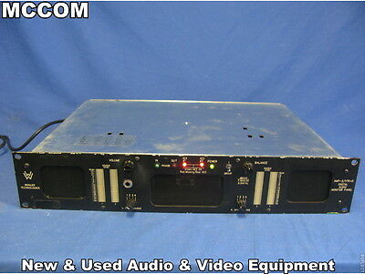 Wohler AMP-2/ VTR+D Digital Audio Monitor Panel