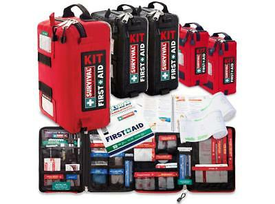 Work or Family First Aid KIT Bundle: 1x Survival FAK, 2x Traveller FAK, 1x Handy