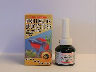 eSHa OPTIMA 20ml. Aquarium Fish Health Booster