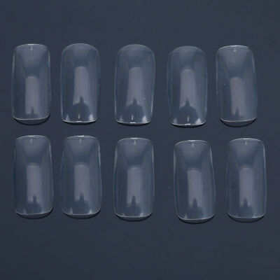 100 Pcs Pro Dual Nail System Form for UV Acrylic Nail Art Tip + Clean Case C-86