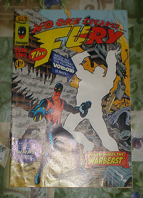 """1993 Reprint of Images of 1963 Printing """"No One Escapes ... The Fury"""" Book Two"""