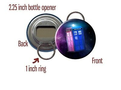 Doctor Who TARDIS BBC Space (Style A) Bottle Opener / Keychain