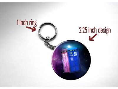Doctor Who TARDIS BBC Space (Style A) Key Chain