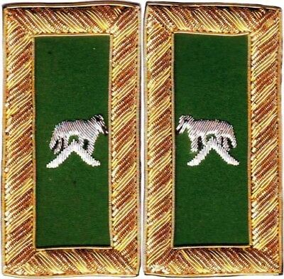 Knight Templar Generalissimo Shoulder Boards Pair Hand Embroidered (Sb-010)